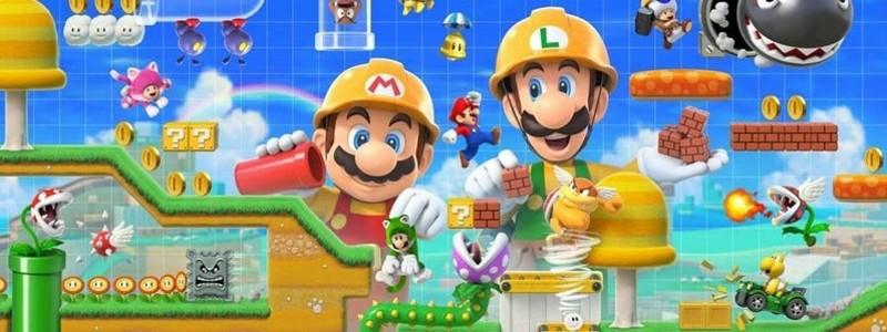 Детали New Super Mario Maker 2: геймплей, сюжет и мультиплеер