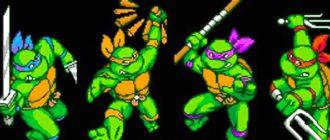 Лучшие игры про Черепашек-ниндзя