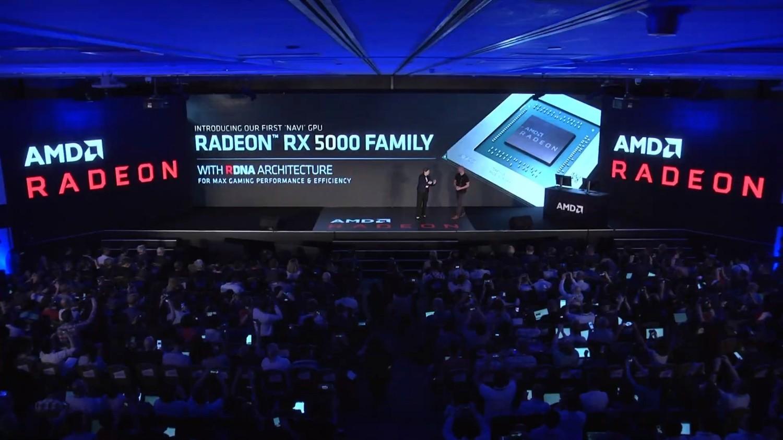 AMD Navi официально представлены на Computex 2019 как RX5000