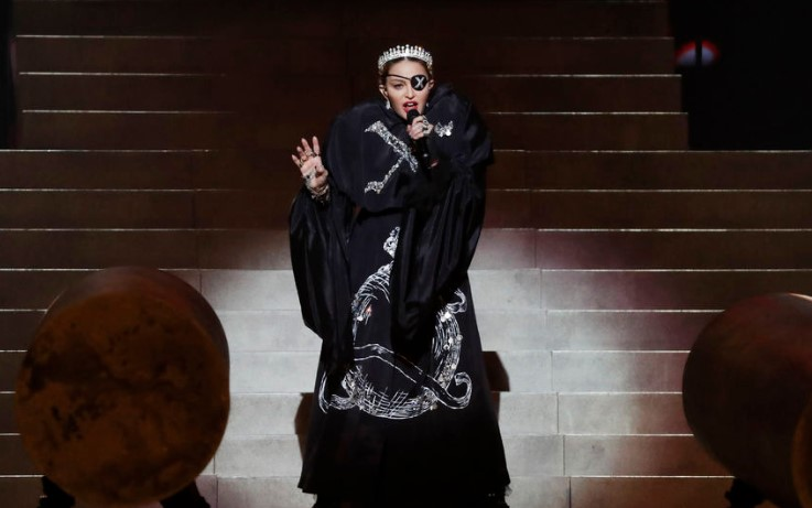 """Стало известно что получила Мадонна за участие в """"Евровидении"""""""