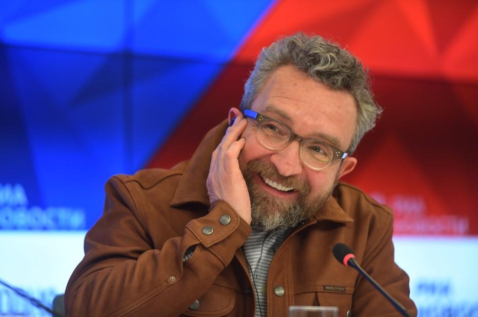 "Британский актёр Эдди Марсан представил ""Эбигейл"" в Москве"