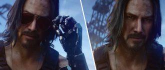 Насколько большая роль у Киану Ривза в Cyberpunk 2077