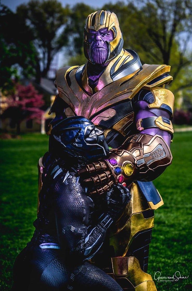 10 лучших костюмов Таноса