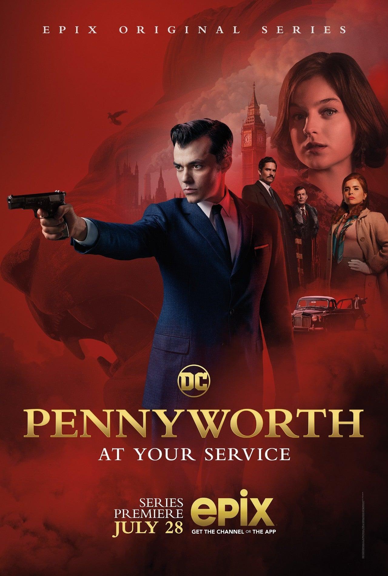 Первый трейлер сериала «Пенниуорт» про дворецкого Бэтмена