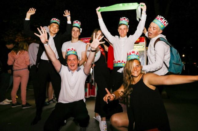 Московские выпускники всю ночь получали удовольствие с СТС Love