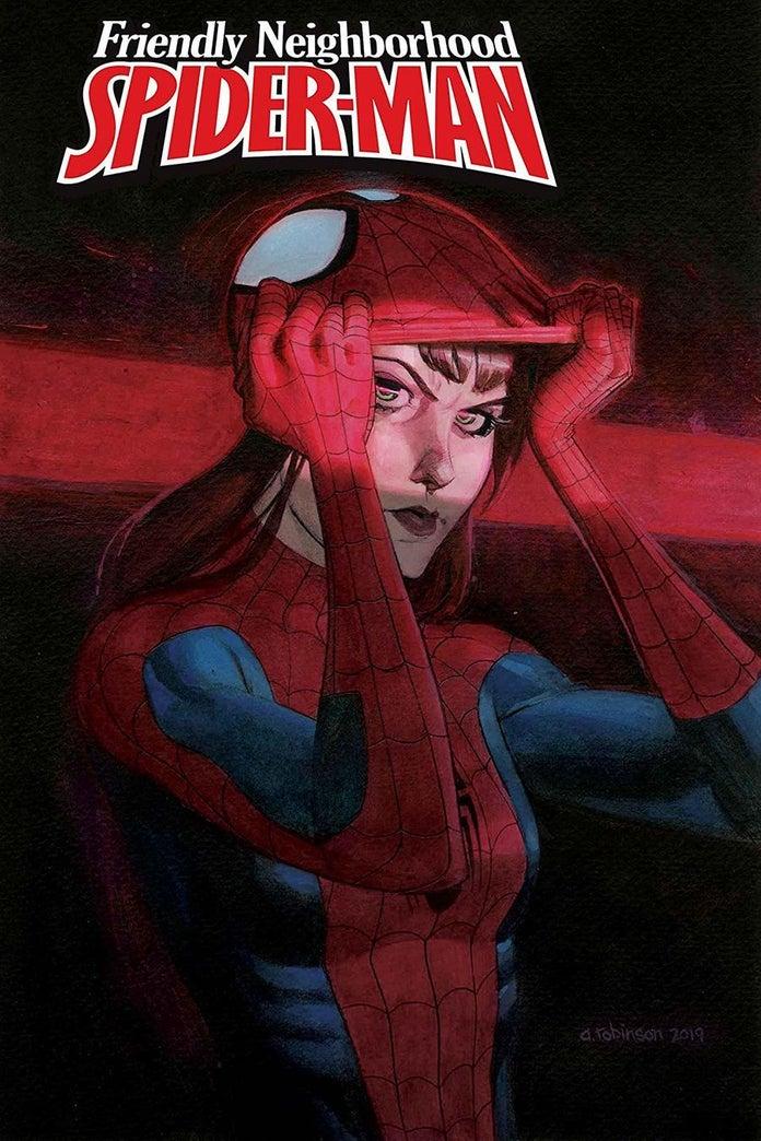 ЭмДжей наденет костюм Человека-паука