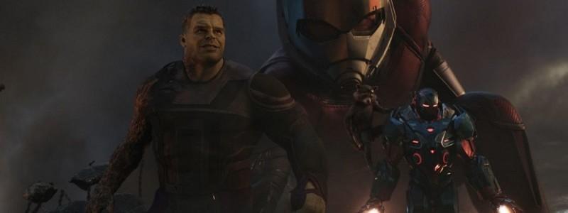 Марк Руффало в костюме Халка на съемках «Мстителей: Финал»