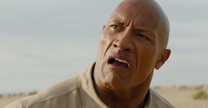 Дэнни ДеВито превращается в Дуэйна Джонсона в первом трейлере «Джуманджи: Новый уровень»
