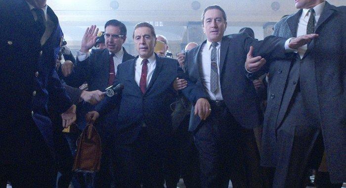 «Ирландец»: Де Ниро и Пачино в первом трейлере гангстерского эпика Скорсезе
