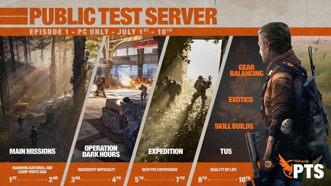 """The Division 2 - изучаем первую часть обновления """"Title Update 5"""""""