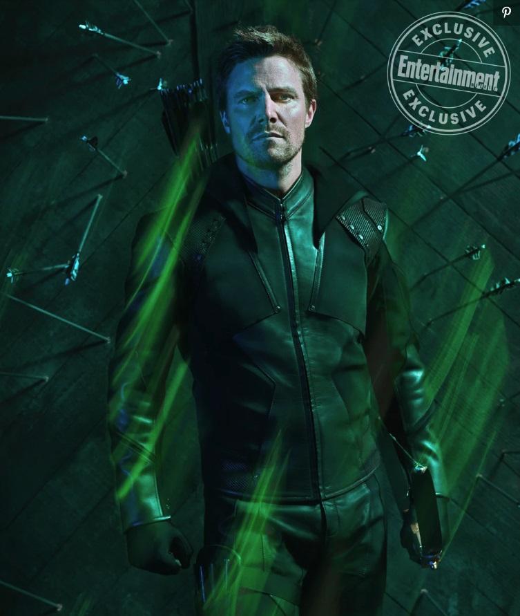 Первый взгляд на новый костюм Стрелы из последнего сезона