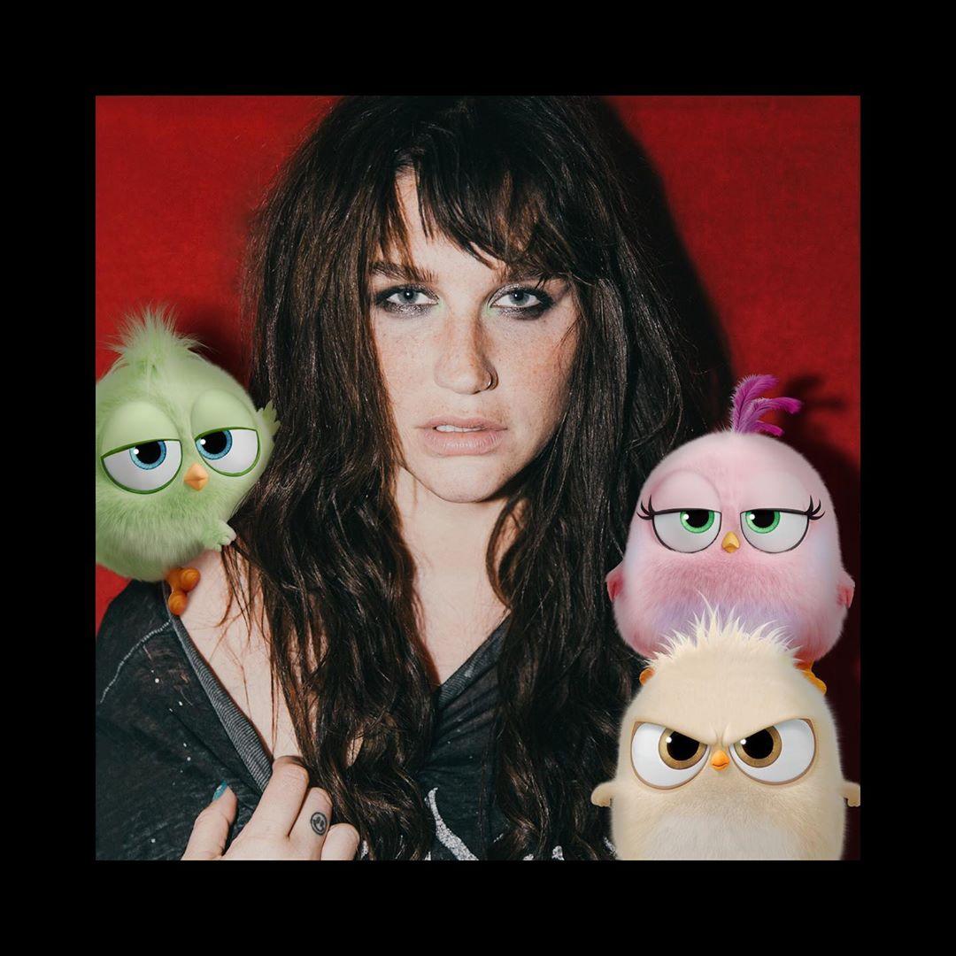 Певица Кеша выпустила песню в поддержку фильма «Angry Birds 2 в кино»