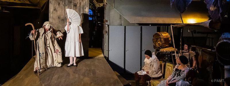 Рецензия на спектакль «Зобеида», РАМТ. Выходи во двор играть!