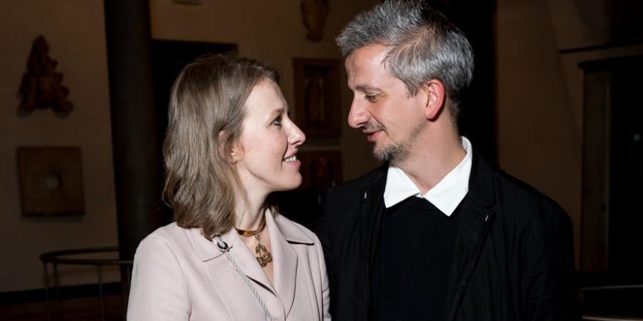 Ксения Собчак впервые поцеловала Константина Богомолова на глазах у общественности