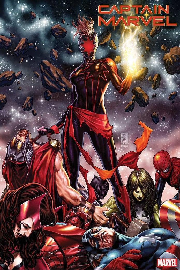 Marvel тизерит злую Капитан Марвел