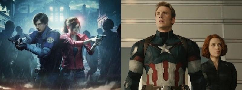 Как выглядят Крис Эванс и Скарлетт Йоханссон в новом фильме Resident Evil