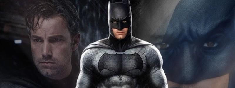 Новый взгляд на Бена Аффлека в роли Бэтмена