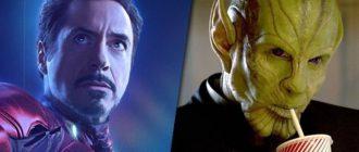 Тони Старк будет Скруллом в «Черной вдове»?