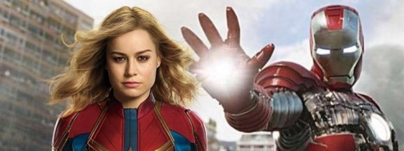 Disney заменили Капитана Марвел на Железного человека в рекламе