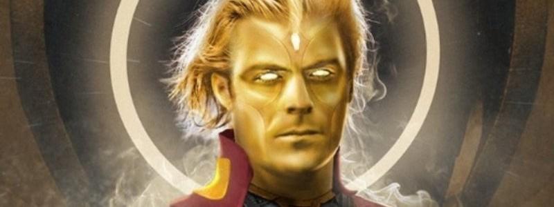 Адам Уорлок Зака Эфрона на постере «Стражей галактики 3»