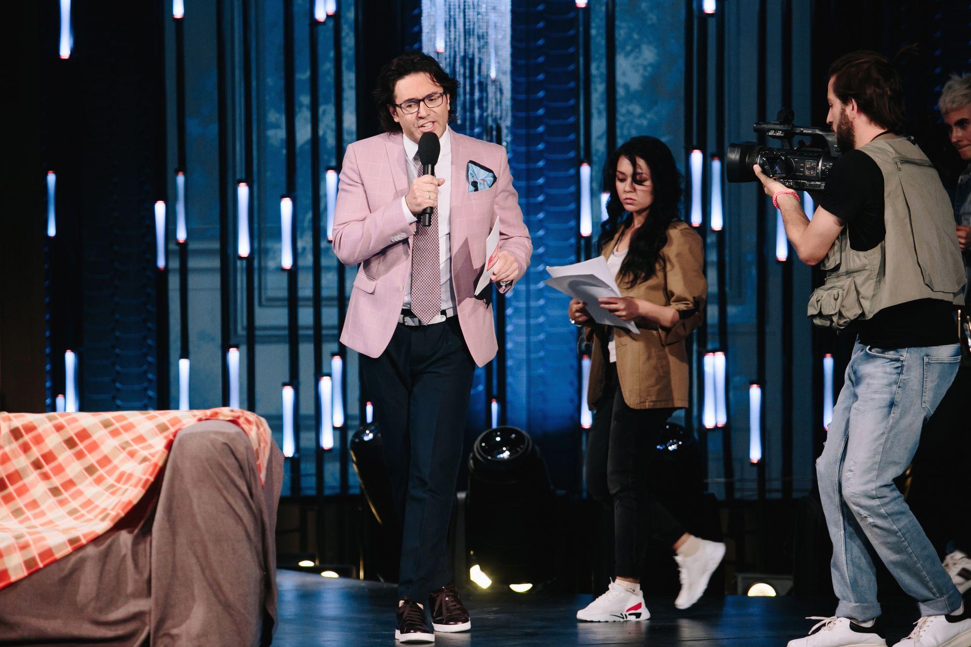 Андрей Малахов и Maruv приняли участие в Comedy Woman