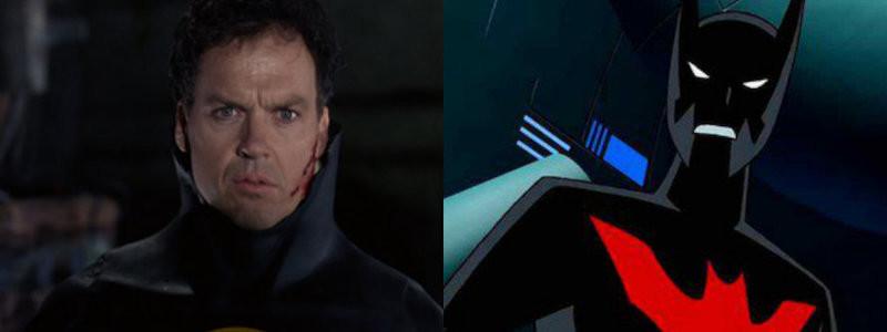 Как Майкл Китон выглядит в роли Брюса Уэйн в «Бэтмене будущего»