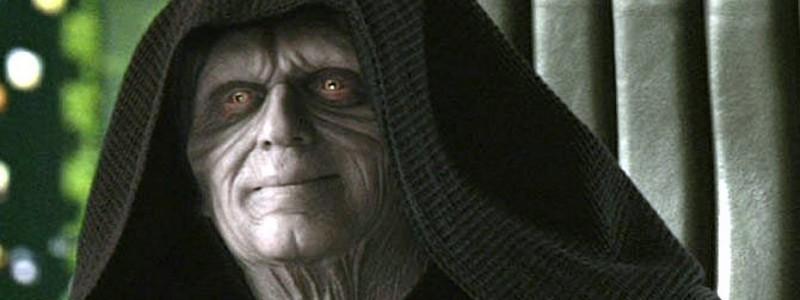 Император Палпатин на слитых кадрах «Звездных войн 9»