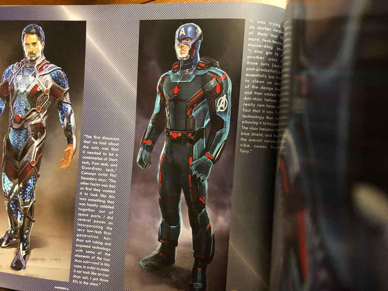 Раскрыто, какими могли быть костюмы героев в «Мстителях: Финал»