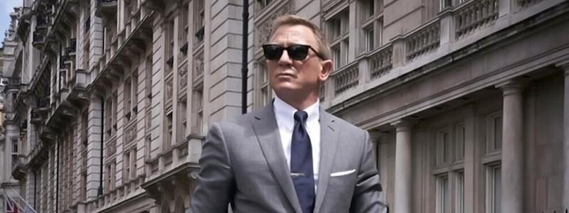 Первый тизер-трейлер «007: Не время умирать»