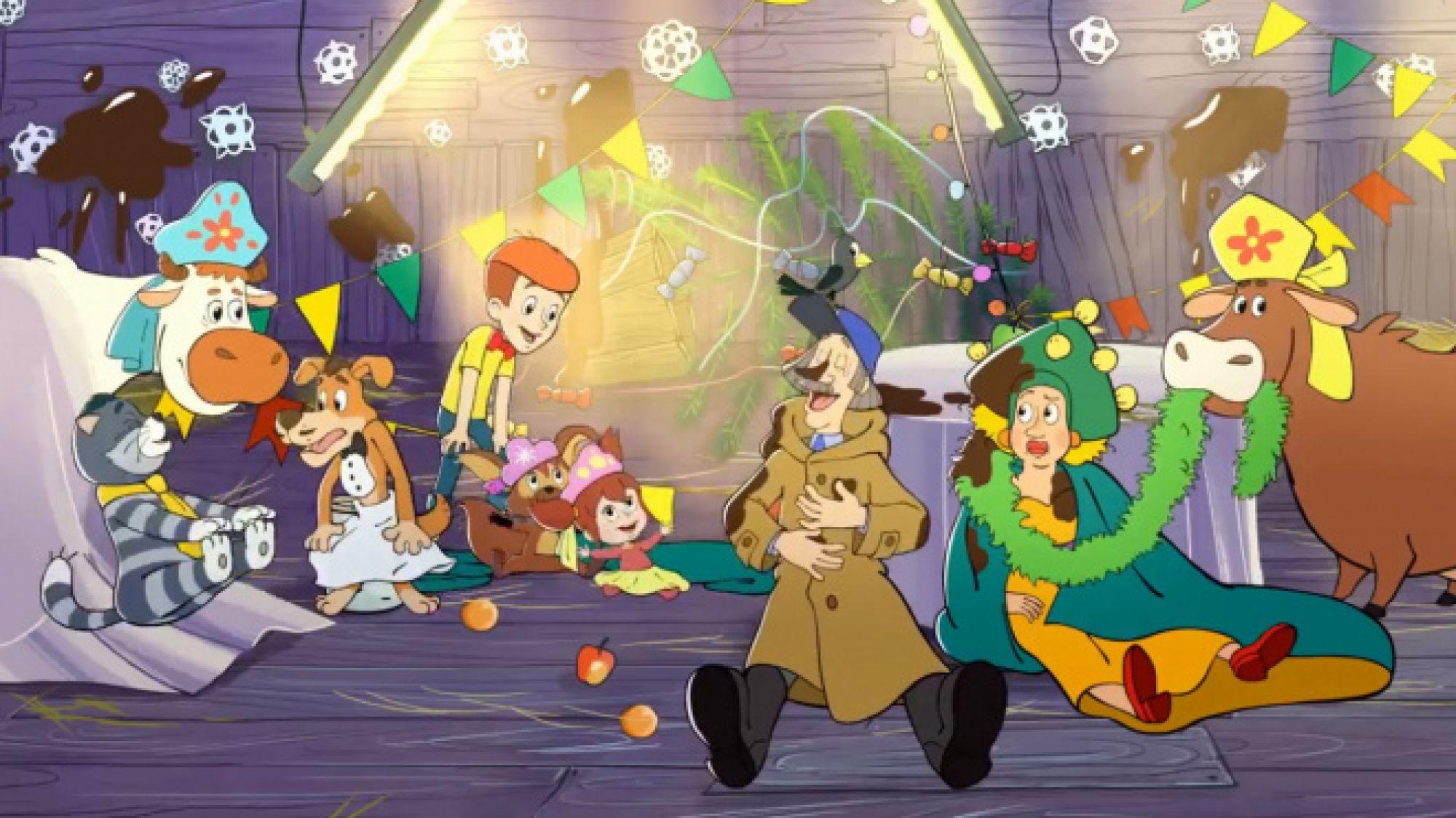 Союзмультфильм» выпустил новую серию «Возвращения в Простоквашино»