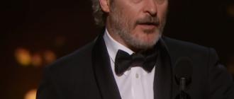Стали известны лучший актер и лучшая актриса церемонии награждения «Оскар-2020»