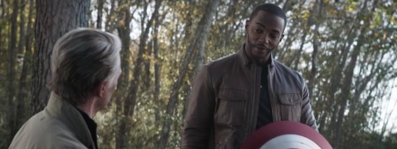 Детали броска щита Капитана Америка в шоу «Сокол и Зимний солдат»