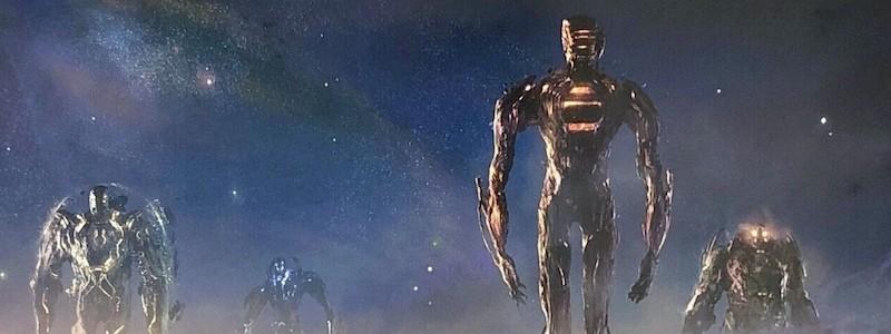 Раскрыт новый логотип «Вечных» от Marvel