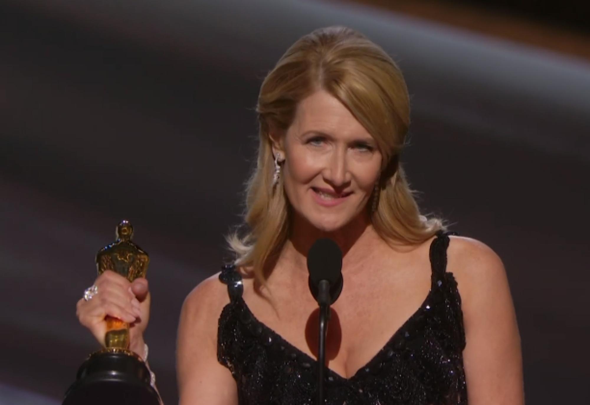 Лора Дёрн – триумфатор церемонии «Оскар» в номинации «Лучшая женская роль второго плана»