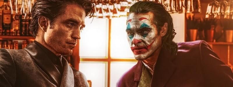 Бэтмен Паттинсона встретился с Джокером Феникса на этом постере