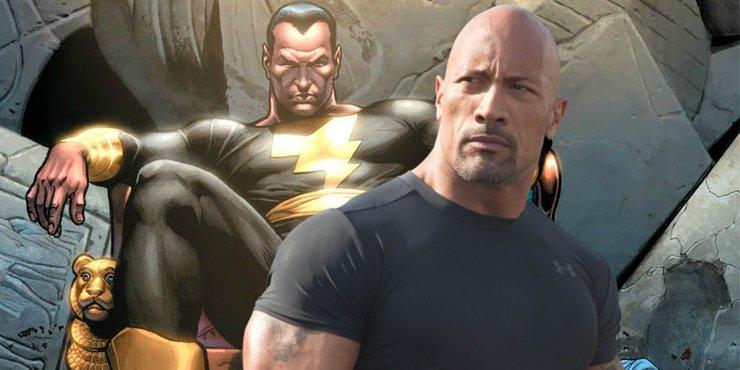 DC могут перенести съемки «Черного Адама»