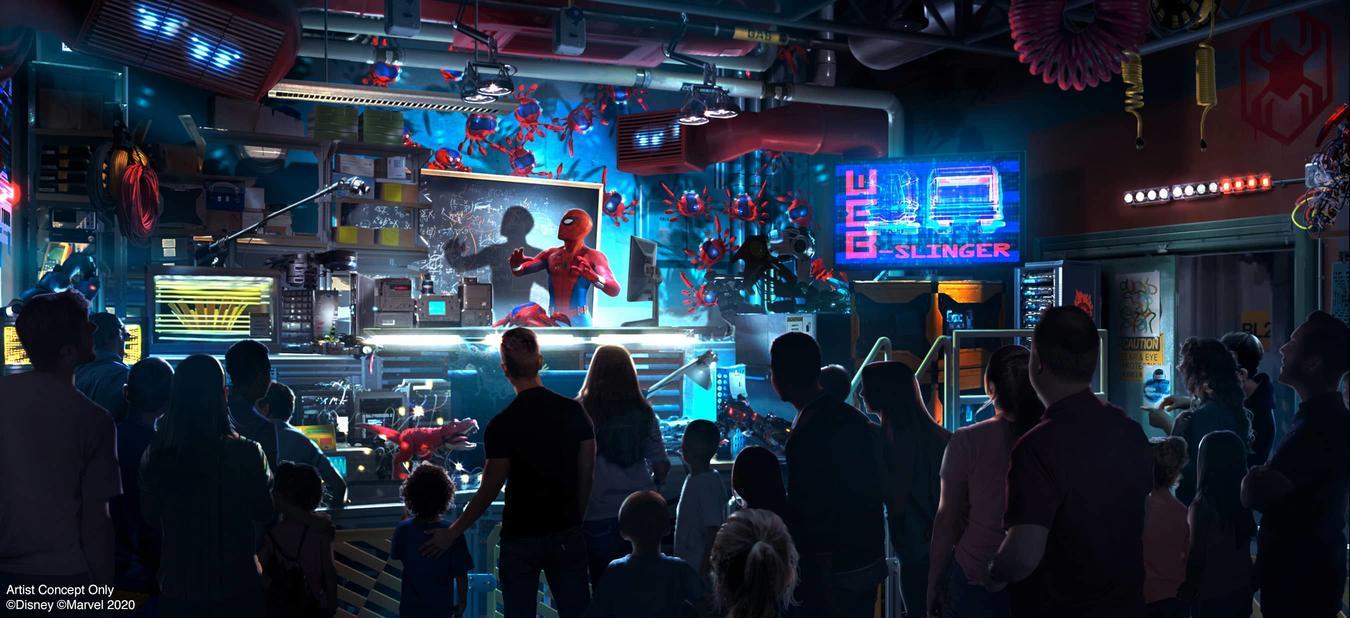 Раскрыто, какие Мстители появятся в Диснейленде