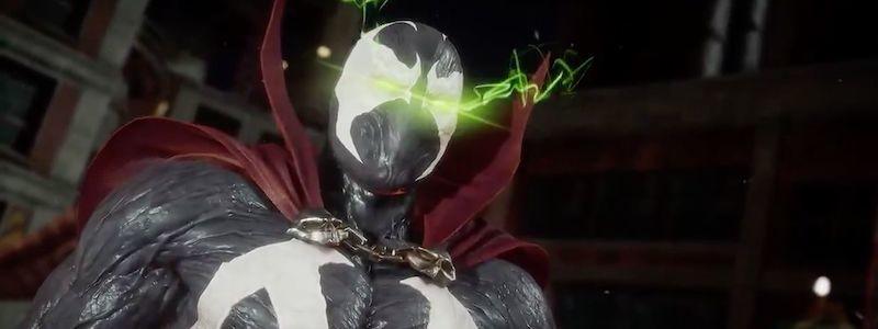 Спаун встречает Джокера в новом ролике Mortal Kombat 11