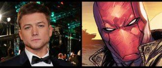 Как выглядит Тэрон Эджертон в роли Красного колпака из «Бэтмена»