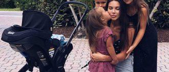 3-летняя дочь Оксаны Самойловой кушает двумя ложками