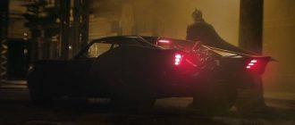 Детальный взгляд на Бэтмобиль из фильма «Бэтмен»