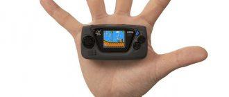 Анонсирована консоль SEGA Game Gear Micro: дата выхода и цена