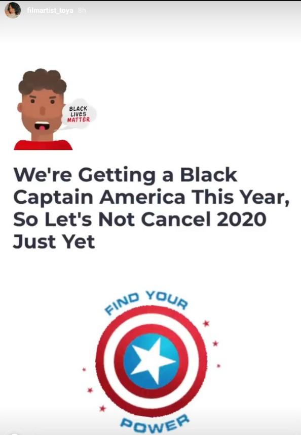Подтверждено, что «черный Капитан Америка» появится в MCU