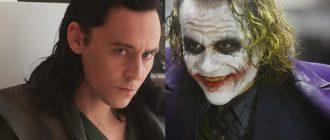 Новый пугающий взгляд на Тома Хиддлстона в роли Джокера
