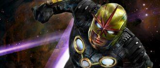 Эффектный логотип фильма «Нова» от фаната Marvel
