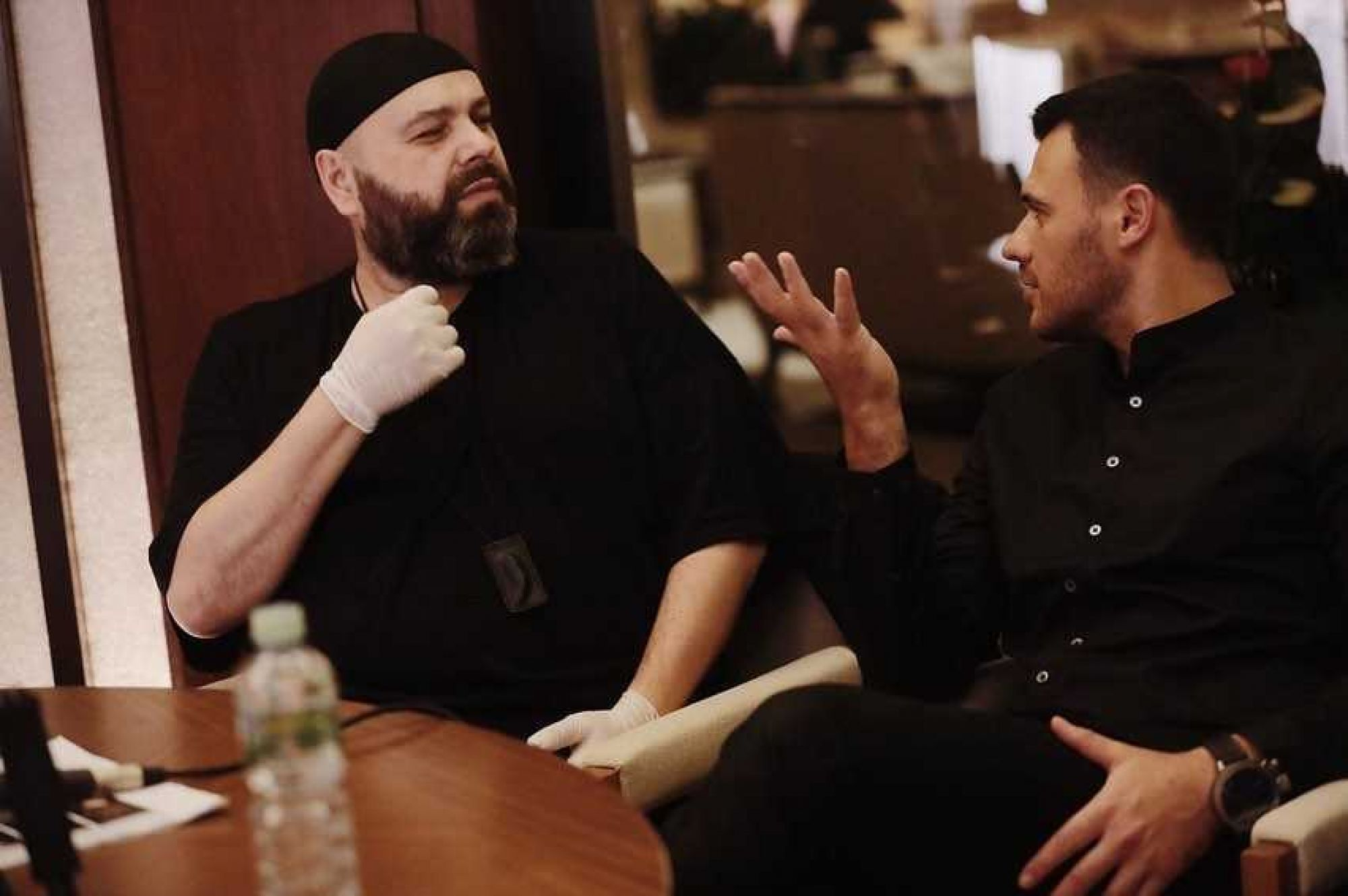 Эмин Агаларов представил публике клип на новую песню Максима Фадеева