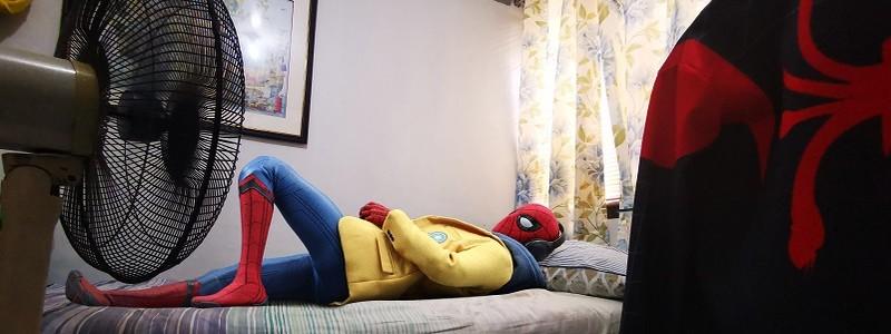 Marvel показали Человека-паука на карантине