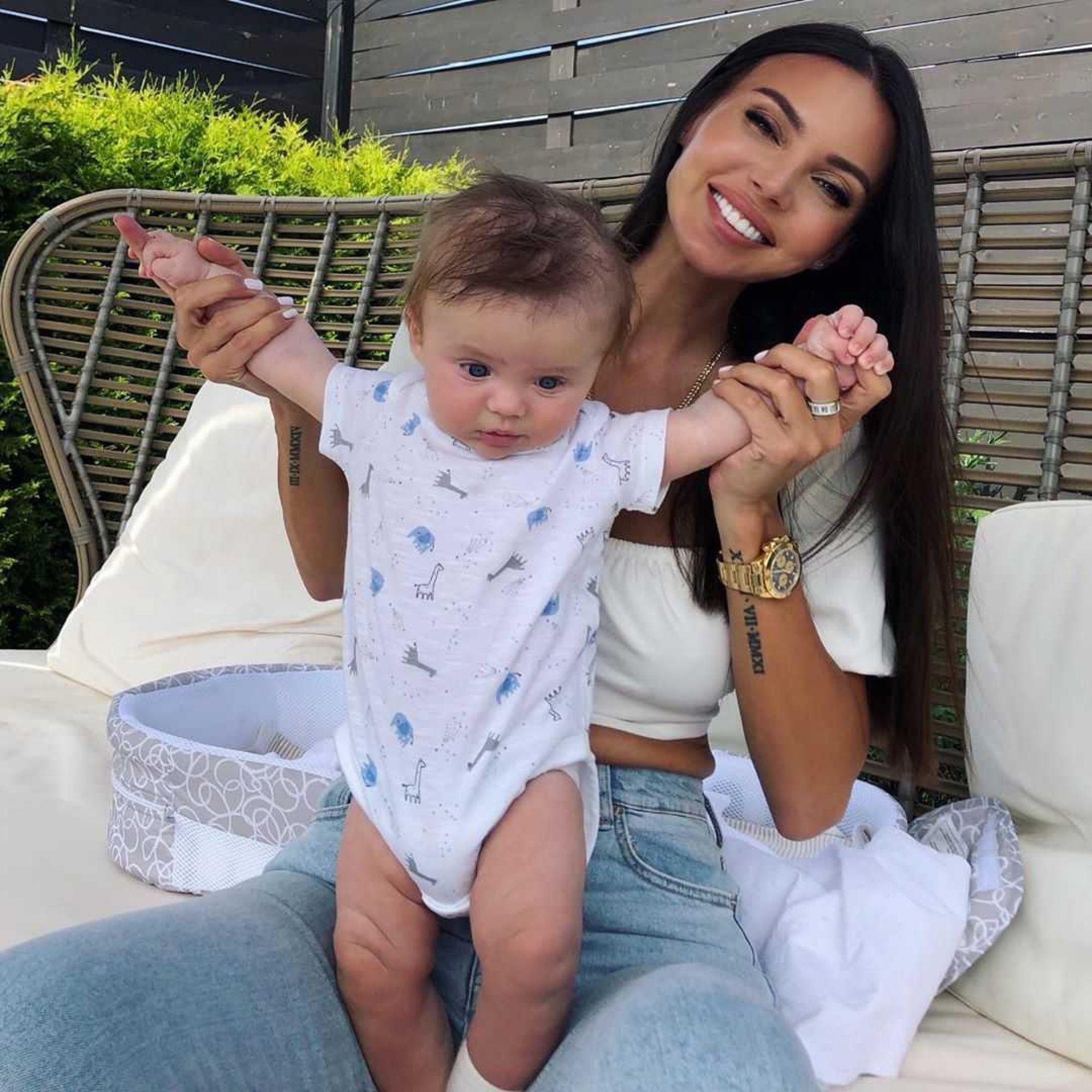 Оксана Самойлова похвасталась новым достижением своего сына