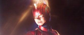 Капитан Марвел с Перчаткой бесконечности на этом кадре «Мстителей: Финал»