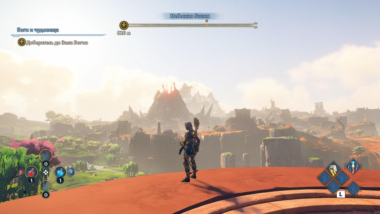 Обзор Immortals Fenyx Rising. НЕ «Зельда» от Ubisoft